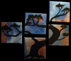Quintic Pine Silhouette by Destiny-Carter