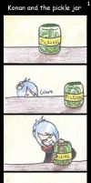Konan and the pickle jar 1 by evillittlecherry