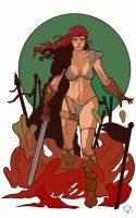 Red Sonja by JordanMichaelJohnson