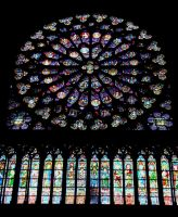Notre Dame - Stained Glass by WrongSideofYourBed