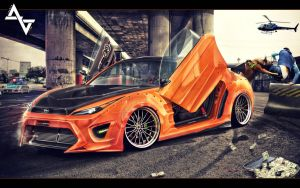 Scion FR-S by xagdesignx