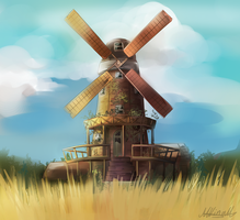 Windmill Design by Lubrian