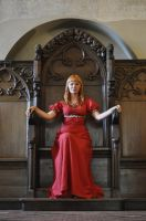 Red Priestess - throne by HypnoticRose