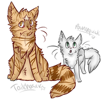 Tailchaser's Song doodle by Kira-Volkova