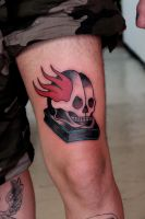 QUANTUM TATTOO MILANO - Skull Book by QuantumTattooMilano