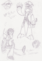 DeceptiOrganics Nekotron and Echoscream by automatic-disaster