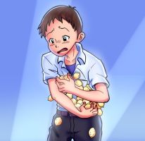 HOLD THOSE LEMONS, SHINJI!! by Parimak
