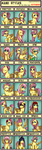 24 Mane Styles For Fluttershy by PandorasJukebox