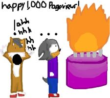 1000 Pageviews by QueenIntrovert