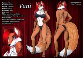 Vani - Ref Sheet by Vani-Fox