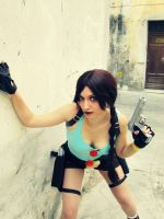 Lara Croft Classic outfit ~ Tomb Raider Cosplay by SerahChan