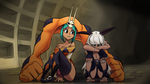 Ms. Fortune And Cerebella by chung-sae