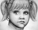 Little Girl Sketch by PMucks