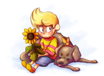 Lucas and Boney by BatLover800