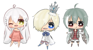 [AT] Tiny Chibis by Mishierru