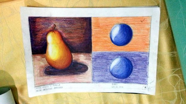 Visual Communication Plate (Color Pencils) by Kamyou97