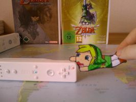 Paper Child Link by ZeldaLikesMe