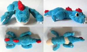 Feraligatr Laying Pokemon Time Plush by Pannsie