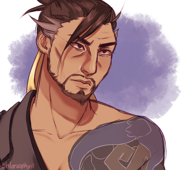 hanzo by chloroophyll