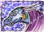 (ACEO) for Ashkey by PurpleWish23