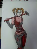 Arkham City: Harley Quinn by Spi-ritual-ity