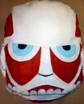 Colossal Titan Head by 13anana
