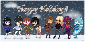 Happy Holiday ~2014~ by Timefang143