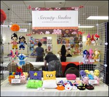 Anime Detour Art Table 2013 by Serenity-Sama