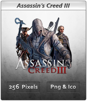 Assassins Creed III - Icon by Crussong