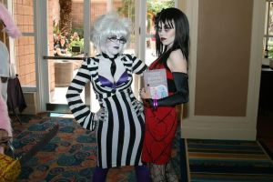 Lydia and BeetleJuice by SickStarr