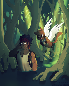 [FT OC] Mangroves by Amadere