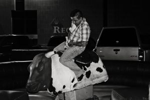 the bull rider by x-chriscross-x