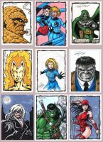 Personal Sketch Cards (PSC) by tonyperna