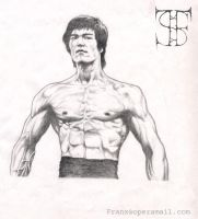 Bruce Lee by gl4di4tor