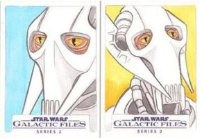Star Wars Galactic Files Series 2 Sketch Cards 15 by Tyrant-1