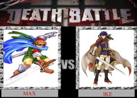 Max VS Ike DEATH BATTLE by Dark-dragon99