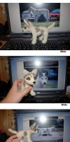 Needle felted Dida by Pawkeye
