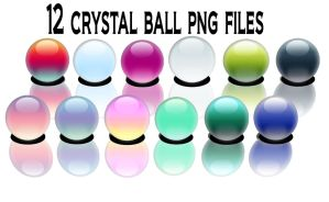 12 crystal ball png files by stuff-by-hagrid