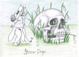 SnowDrop by LimeGreenSquid