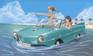 Amphicar by dead-robot