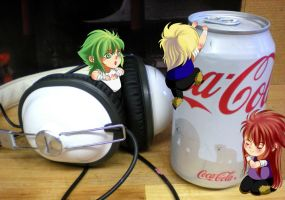White Coke Can by BX211