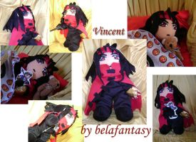 Vincent plushie all the way by belafantasy