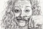 Carrie Hope Fletcher by IlseVerbeek