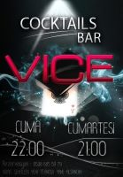 Vice New Poster by SercanSalkir