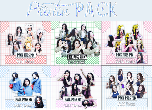 /// Pack render 155 to 160 /// Pristin Pack by Cold-Team