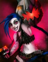 [LoL] Jinx by monobun