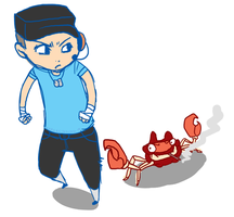 TF2 - Scout and Spy Krabby by SuperKusoKao