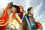 Red Hood and the Outlaws by LordVick13
