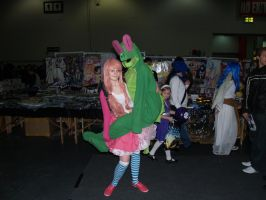 There's an Aligator in the ExCel Centre by M4X1LL10N