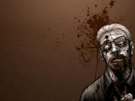 Tony Moore Zombie by daver
